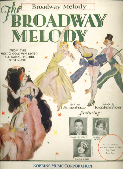 The Broadway Melody The Broadway Melody 1929 gallery Songbook