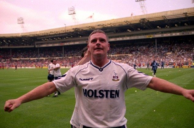 The Broken Spur movie scenes Gascoigne who gave some of his best years to Spurs from 1988 to 1992