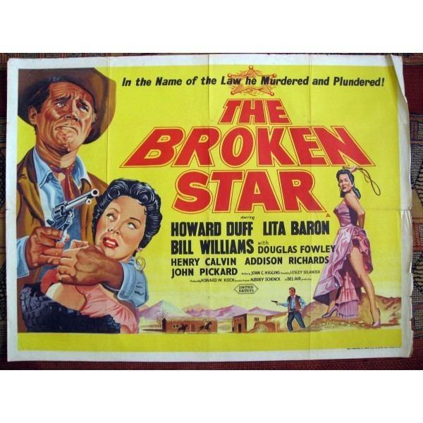 The Broken Star The Broken Star 1956 Original British Quad