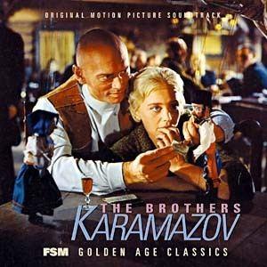 The Brothers Karamazov (1958 film) Brothers Karamazov The Soundtrack details SoundtrackCollectorcom