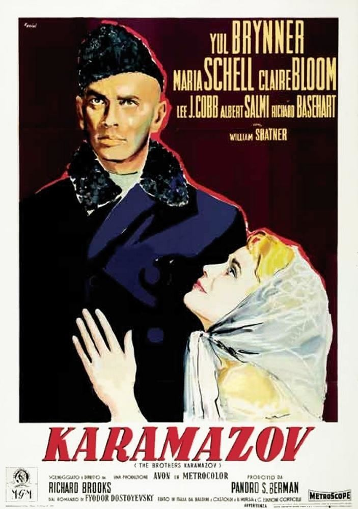 The Brothers Karamazov (1958 film) The Brothers Karamazov 1958 Yul Brynner Marilyn Monroe
