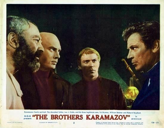 The Brothers Karamazov (1958 film) THE BROTHERS KARAMAZOV 1958 Lobby Card 2 Yul Brynner