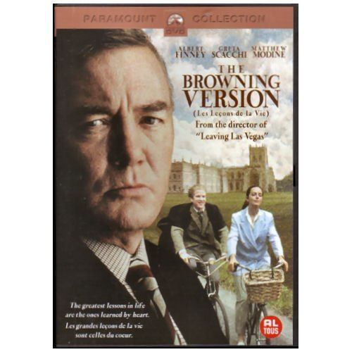 The Browning Version (1994 film) The Browning Version 1994 Dutch Import Amazoncouk Albert