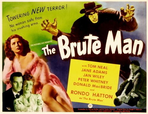 The Brute Man the brute man 1946 Tumblr