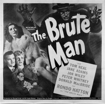 The Brute Man The Brute Man Film TV Tropes
