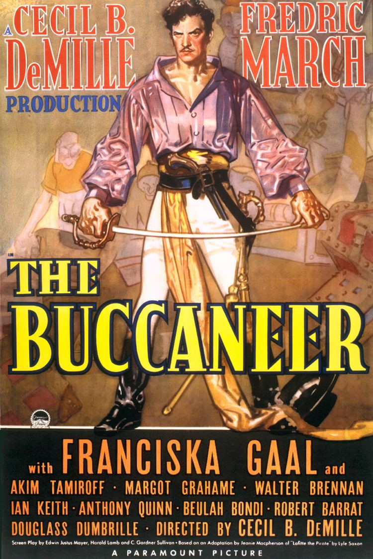 The Buccaneer (1938 film) wwwgstaticcomtvthumbmovieposters639p639pv