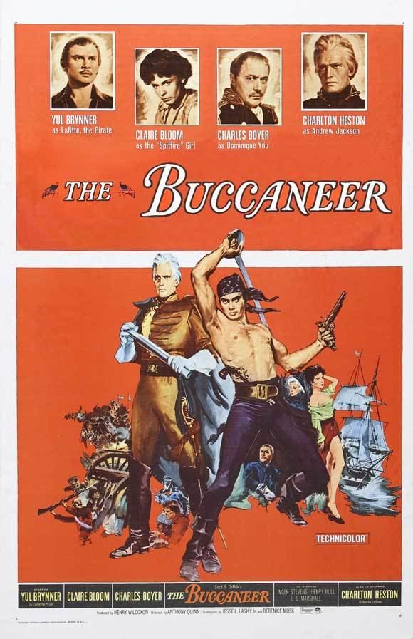 The Buccaneer (1958 film) The Buccaneer 1958