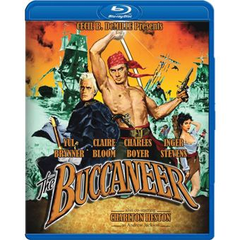 The Buccaneer (1958 film) DVD Savant Bluray Review The Buccaneer