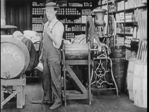 The Butcher Boy (1917 film) 1917 The Butcher Boy Buster Keaton YouTube
