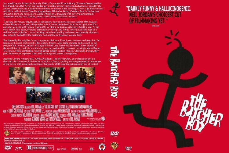The Butcher Boy (1997 film) COVERSBOXSK The Butcher Boy 1997 high quality DVD Blueray
