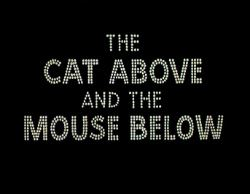The Cat Above and the Mouse Below movie poster