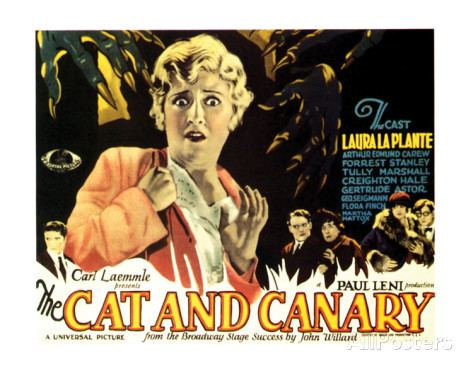 The Cat and the Canary (1927 film) Cinema Arts Centre THE CAT AND THE CANARY