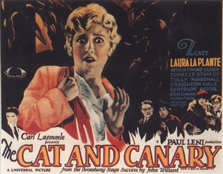 The Cat and the Canary (1927 film) The Cat and the Canary 1927 Journeys in Classic Film