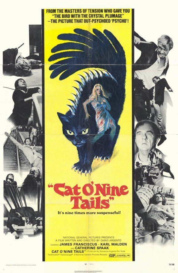 The Cat o Nine Tails movie poster