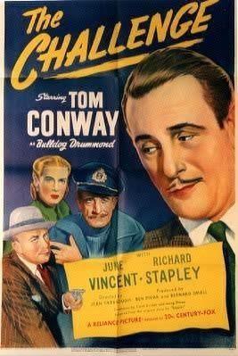 The Challenge (1948 film) THE CHALLENGE 1948 RARE BULLDOG DRUMMOND for sale