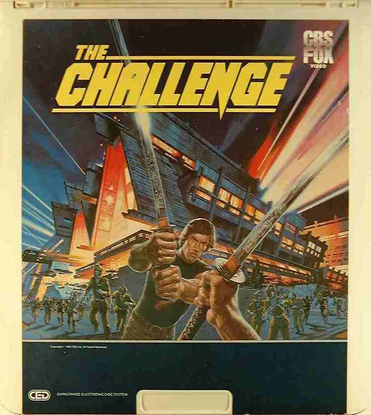 The Challenge (1982 film) Challenge The 24543713791 U Side 1 CED Title Bluray DVD