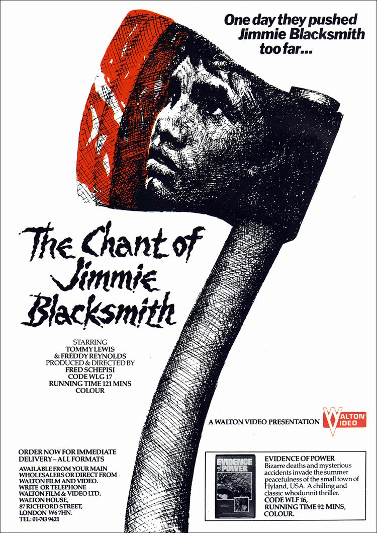 The Chant of Jimmie Blacksmith (film) The Chant of Jimmie Blacksmith at The Backlot Colosoul Magazine