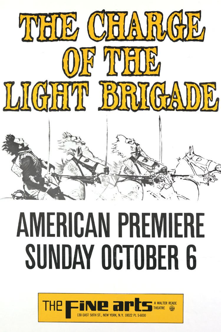 The Charge of the Light Brigade (1968 film) wwwgstaticcomtvthumbmovieposters521p521pv