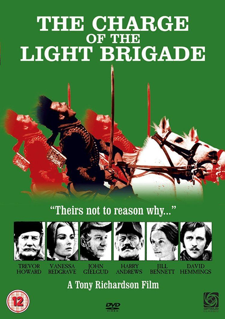 The Charge of the Light Brigade (1968 film) The Charge Of The Light Brigade DVD 1968 Amazoncouk Trevor