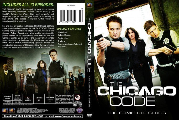 The Chicago Code The Chicago Code Season 1 Dvd Covers and Labels