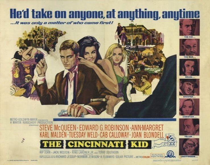 The Cincinnati Kid The Cincinnati Kid 1965 Norman Jewison Twenty Four Frames