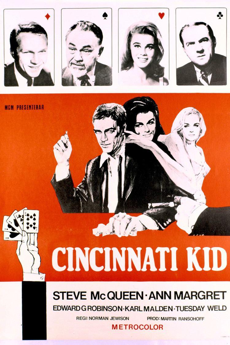 The Cincinnati Kid wwwgstaticcomtvthumbmovieposters3658p3658p
