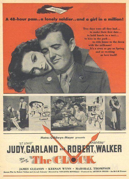 The Clock (1945 film) The Clock 1945 Judy Garland Robert Walker A soldier a girl