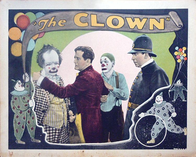 The Clown (1916 film) FileThe Clown 1927 lobby cardjpg Wikimedia Commons