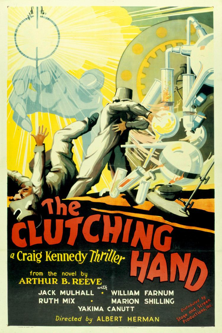 The Clutching Hand wwwgstaticcomtvthumbmovieposters48154p48154