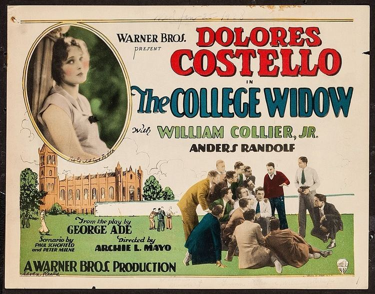 The College Widow (1915 film) Thelma Todd HORSE FEATHERS And THE COLLEGE WIDOW