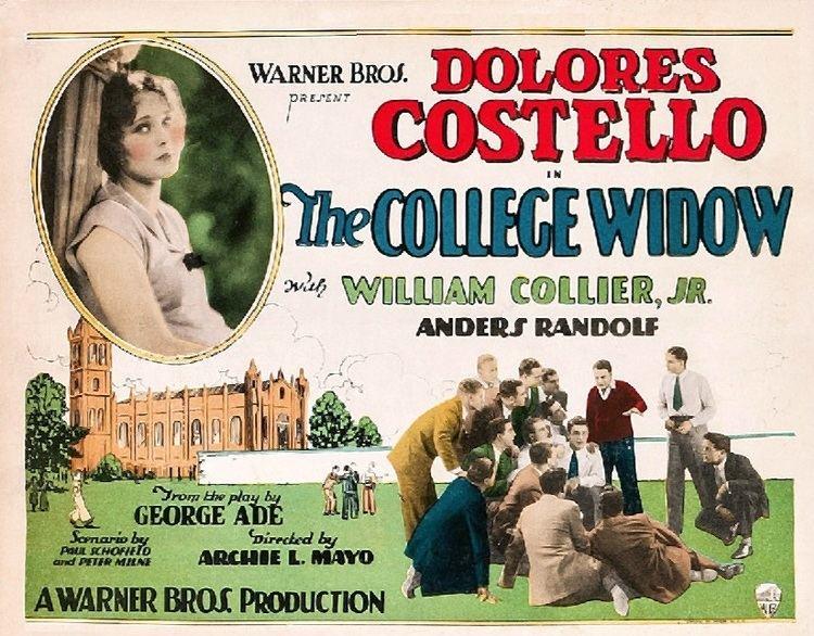 The College Widow (1915 film) The College Widow 1927 film Wikipedia
