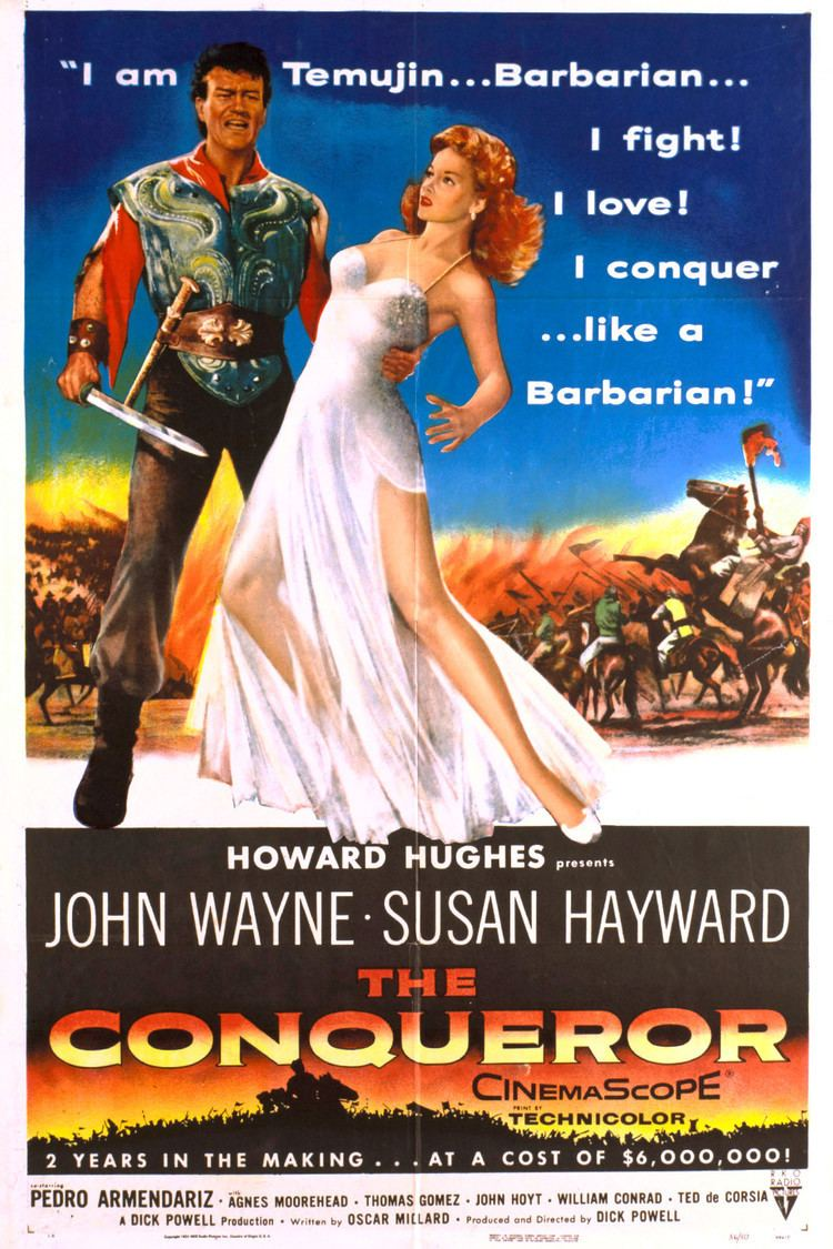 The Conqueror (film) wwwgstaticcomtvthumbmovieposters2589p2589p
