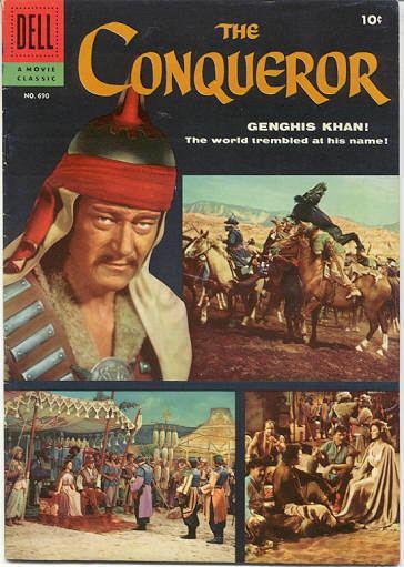 The Conqueror (film) The Conqueror 1956 The Film that Killed John WayneLiterally