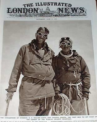 The Conquest of Everest Illustrated London News 1953 Conquest of Everest