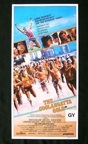 The Coolangatta Gold (film) COOLANGATTA GOLD 1984 Surfing Ironman Colin Friels Movie poster