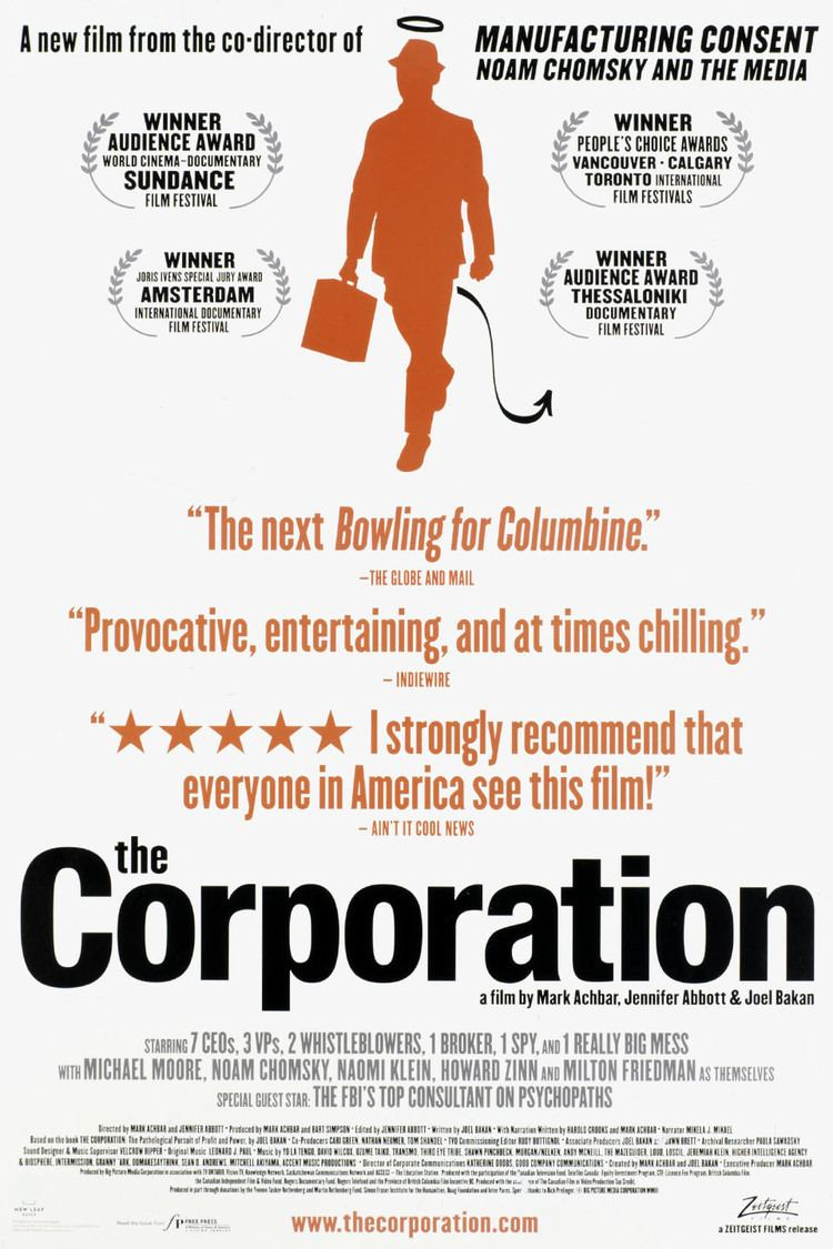 The Corporation (film) wwwgstaticcomtvthumbmovieposters33906p33906