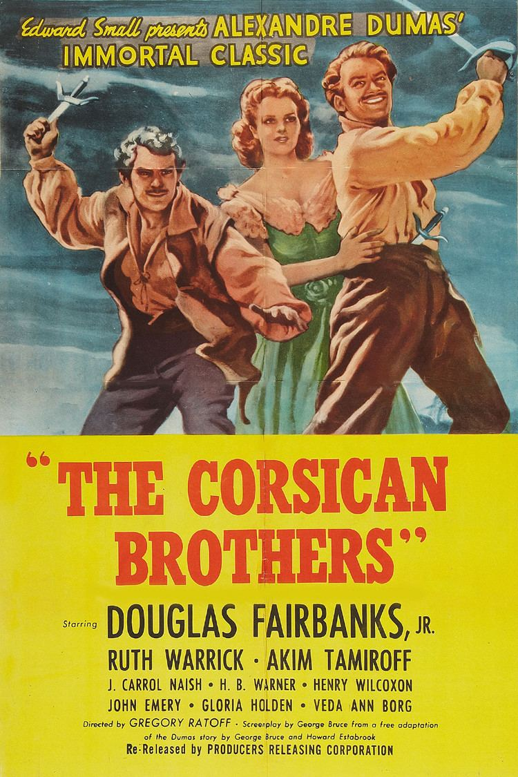 The Corsican Brothers (1941 film) wwwgstaticcomtvthumbmovieposters12104p12104