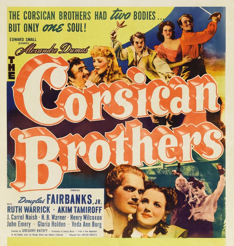 The Corsican Brothers (1941 film) Corsican Brothers The 1941