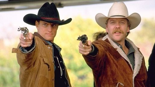 The Cowboy Way (film) Woody Harrelson and Keifer Sutherland The Cowboy Way Lets Go To