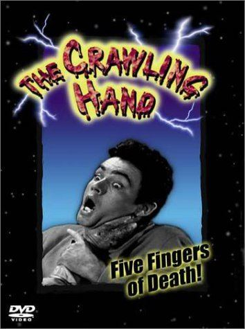 The Crawling Hand Amazoncom The Crawling Hand Peter Breck Kent Taylor Rod Lauren