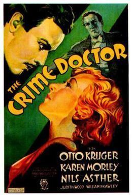 The Crime Doctor (1934 film) movie poster