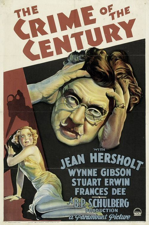 The Crime of the Century (1933 film) The Crime of the Century 1933 Toronto Film Society Toronto