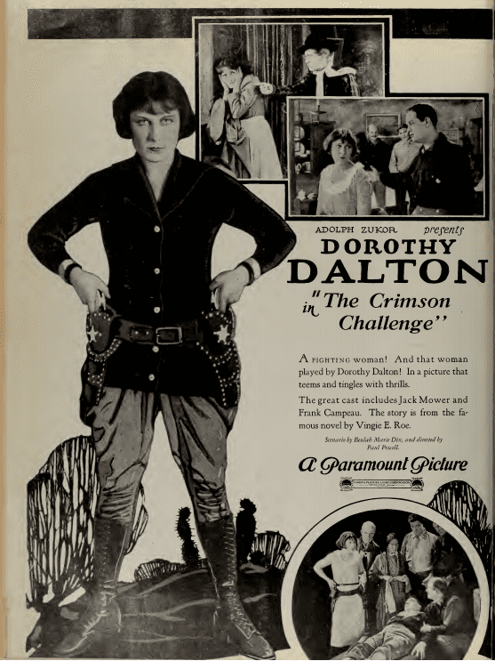 The Crimson Challenge FileDorothy Dalton in The Crimson Challenge by Paul Powell Film