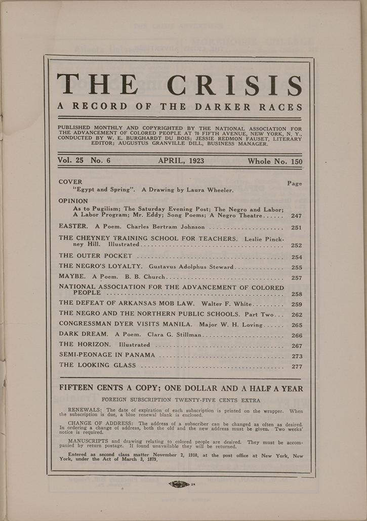 The Crisis The New Negro Movement NAACP A Century in the Fight for Freedom