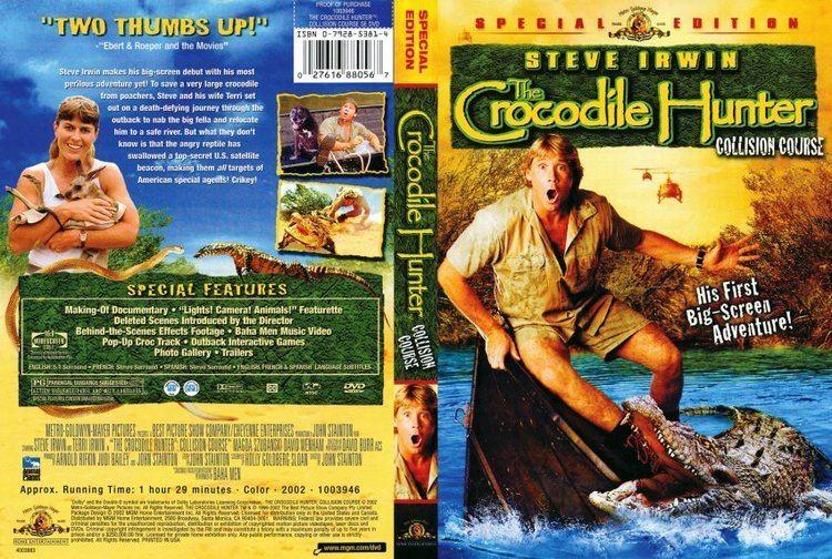 The Crocodile Hunter: Collision Course The Crocodile Hunter Collision Course TV DVD Scanned Covers The