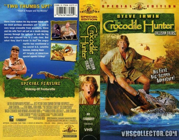 The Crocodile Hunter: Collision Course The Crocodile Hunter Collision Course VHSCollectorcom Your