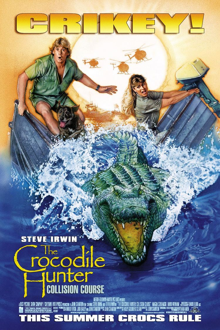 The Crocodile Hunter: Collision Course wwwgstaticcomtvthumbmovieposters29121p29121