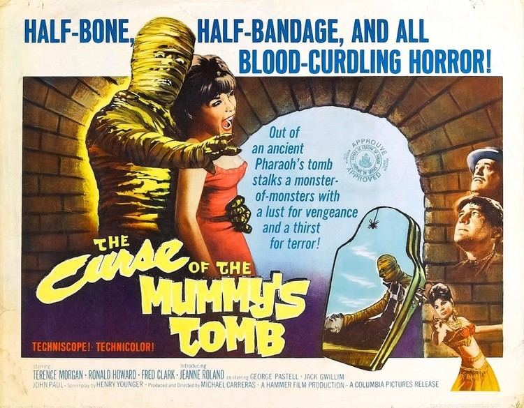 The Curse of the Mummy's Tomb Column The Vault of Secrets The Curse of the Mummys Tomb 1964