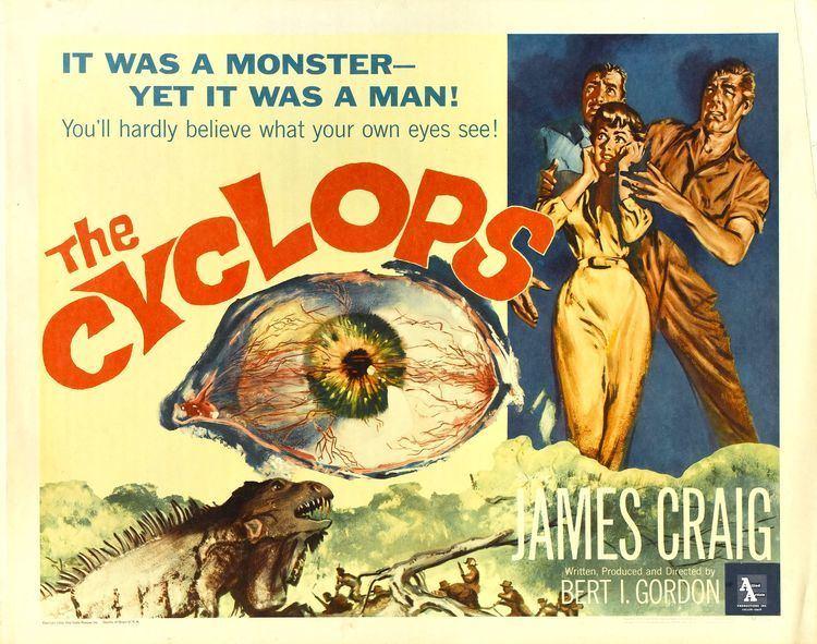 The Cyclops (film) THE CYCLOPS 1957 The Dungeon Review GOREGIRLS DUNGEON