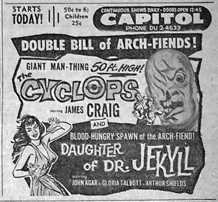 The Cyclops (film) The Cyclops film Alchetron The Free Social Encyclopedia